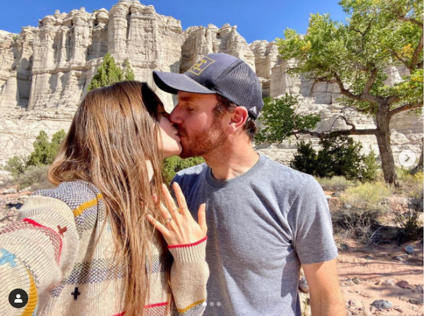 Actress, Lily Collins and film director Charlie McDowell are engaged (Photos)