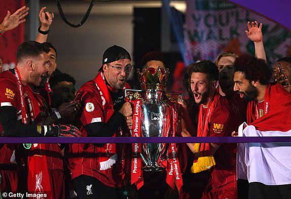 Liverpool lifts Premier League trophy after thrashing Chelsea 5 - 3 at Anfield (Photos)