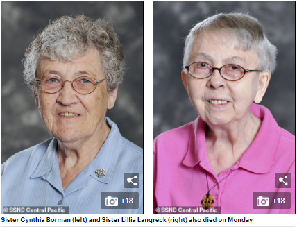Eight nuns die in the same week after COVID-19 spread through their retirement home