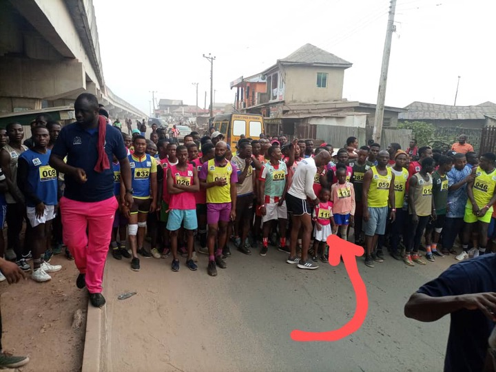 5-year-old girl finish 17th at Ijebu marathon race
