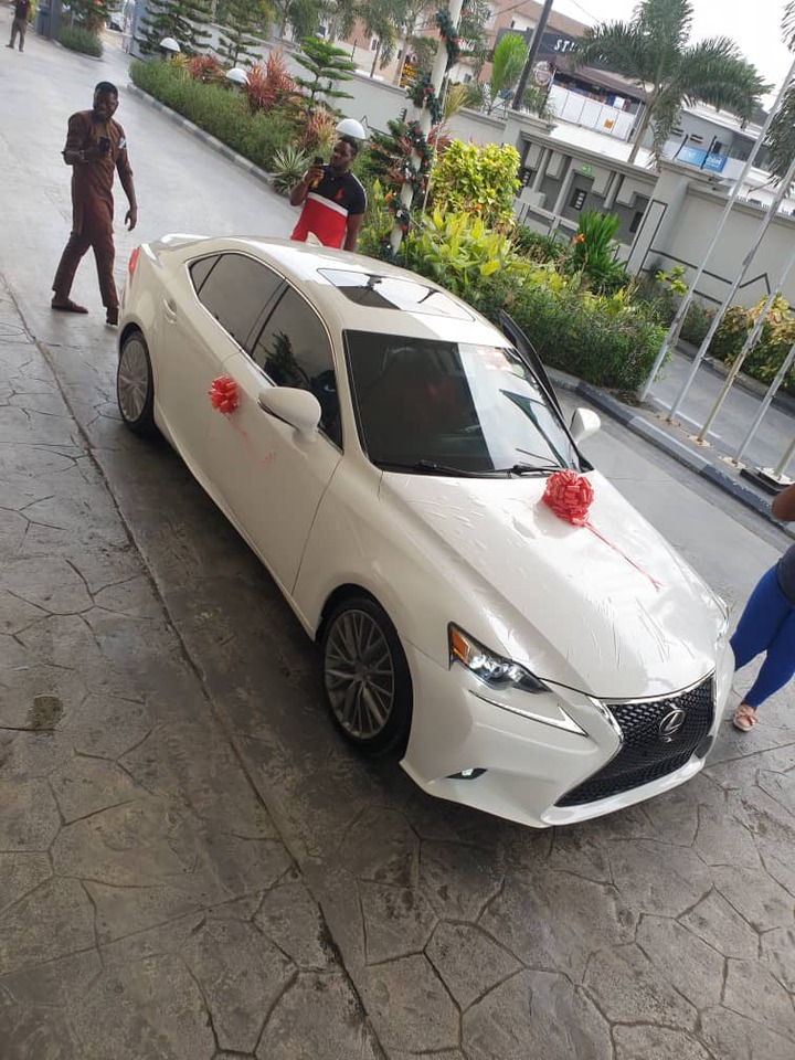 Korede Bello surprises his manager of 10-years with a brand new car to celebrate his birthday (Photos)