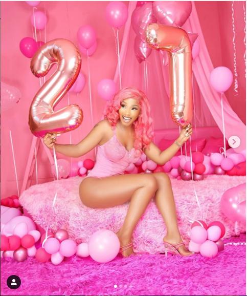 BBNaija star, Mercy Eke flaunts her curves in new sexy photos ahead of her 27th birthday