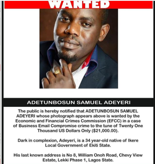 EFCC hunting for 3 brothers amidst the wanted persons for various fraud related cases???