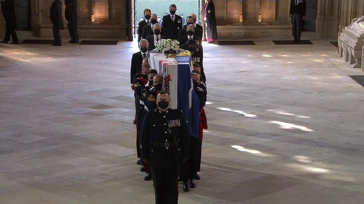 Prince Philip's funeral at St George's Chapel