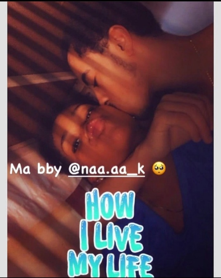 Shocking Bedroom Photo of Afia Schwarzenegger's son and his Girlfriend enjoying themselves Causes Stirs