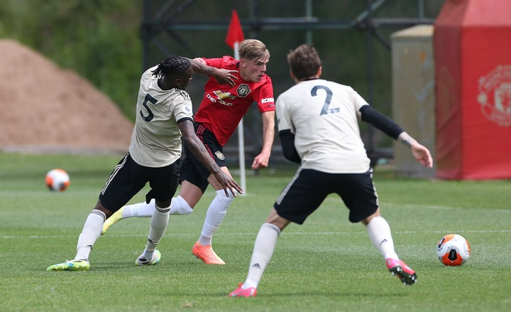 Aaron charges against McTominay in United friendly