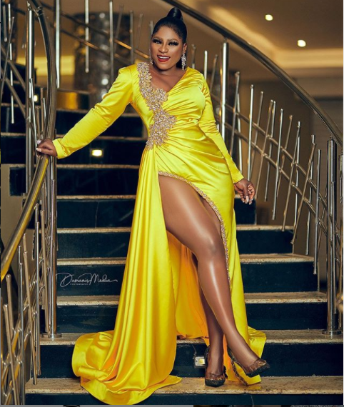 Nollywood actress, Destiny Etiko releases stunning photos to celebrate her 31st birthday?