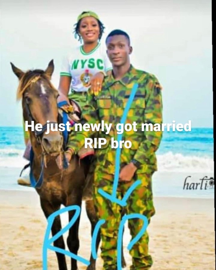 Soldier who just got married allegedly killed by the IED explosion in Borno State