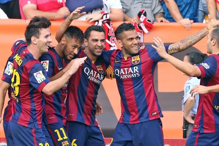 Messi and his super teammates