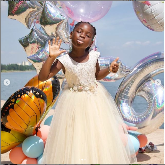 Davido celebrates daughter Imade on her 6th birthday