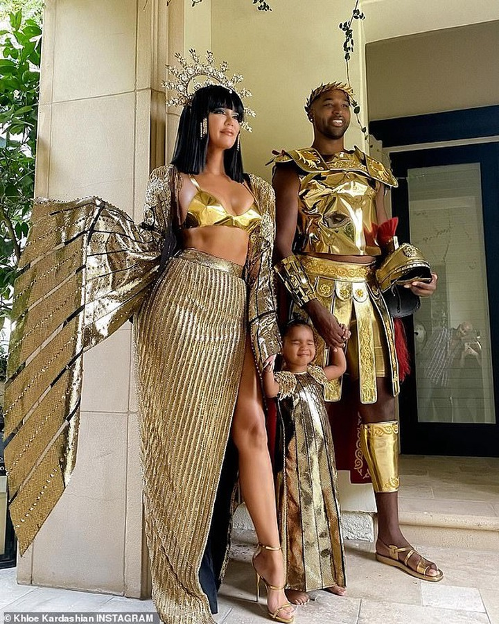 Behold the Khloe Kardashian and Tristan Thompson Halloween costumes (photos)
