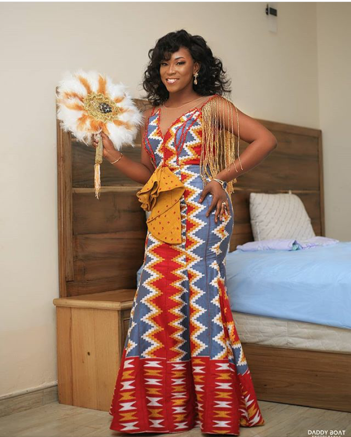 50 Attractive African-Inspired Kente Designs That Will Help You Glow At Regular Occasions. 3