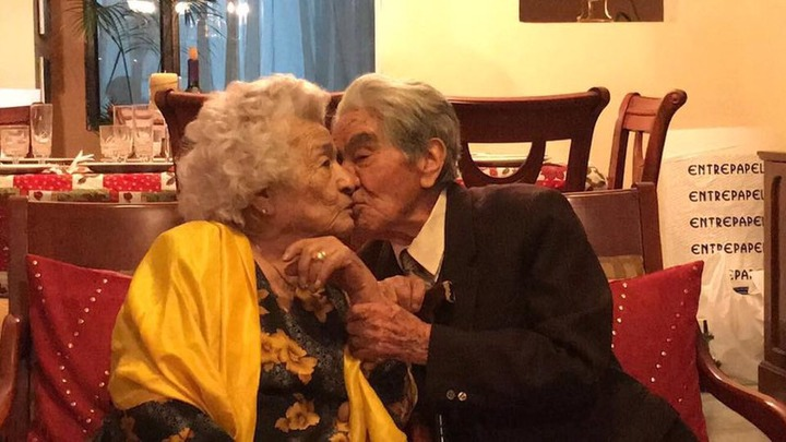 Ecuadorian spouses who have been married for 79-years, become the world