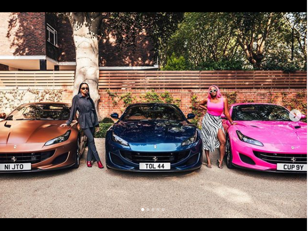 Femi Otedola buys three Ferrari Portofino whips for his three daughters lindaikejisblog