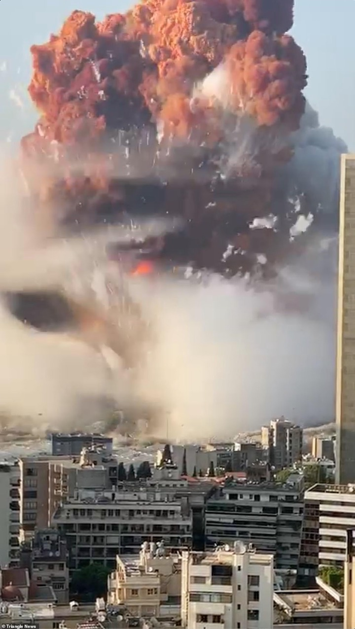 Update: At least 50 killed and 2,500 injured after massive explosion in Lebanon