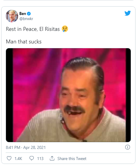 El Risitas, the man behind ?Spanish Laughing Guy? meme is dead