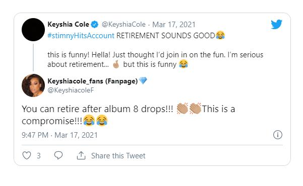 Keyshia Cole reveals she