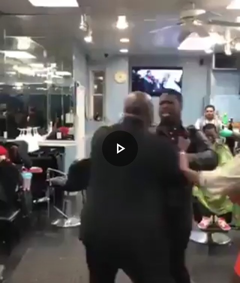 Bouncer Beats up a Man for Touching His Girlfriend's Backside