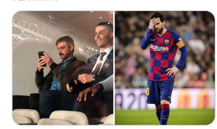 Don't ever compare Messi to Ronaldo Again