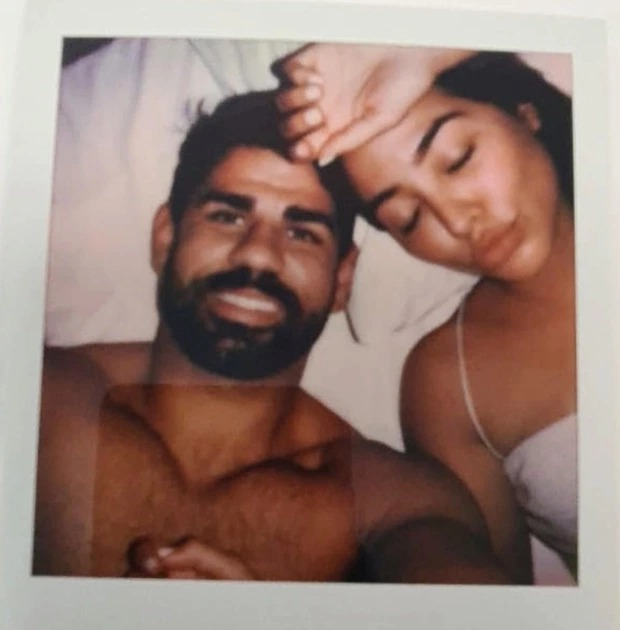 Intimate photos of football stars Diego Costa and Gabriel Jesus in bed with the same mystery woman found in a bible at a charity shop