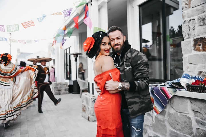 WWE star, Nikki Bella confirms she is having a baby boy with her partner, Artem Chigvinstev (Photos/Video)