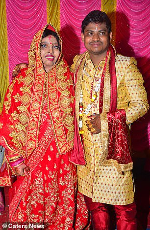 Woman, 28, who survived acid attack after rejecting a marriage proposal at 15, marries a man she met while in hospital (Photos)
