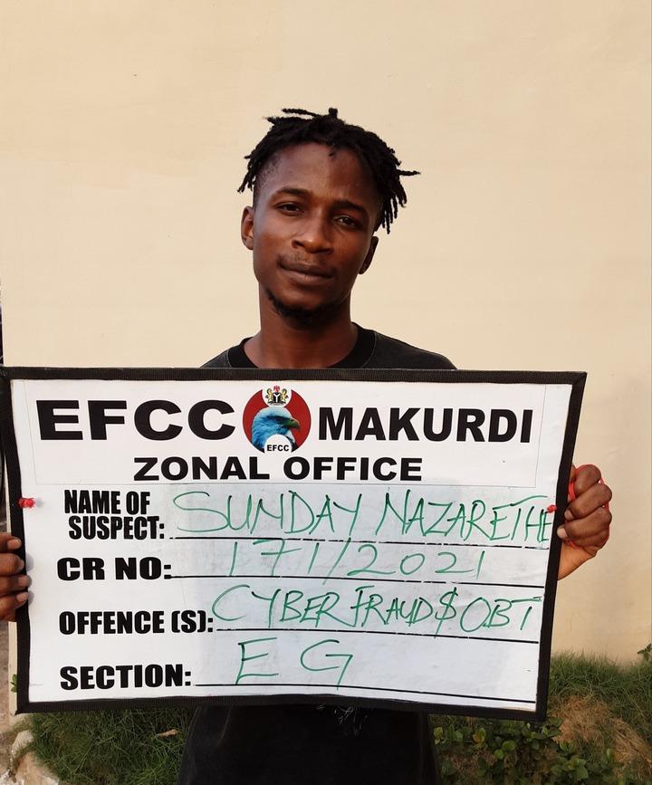 Four suspected Internet fraudster arrested in Benue (photos)