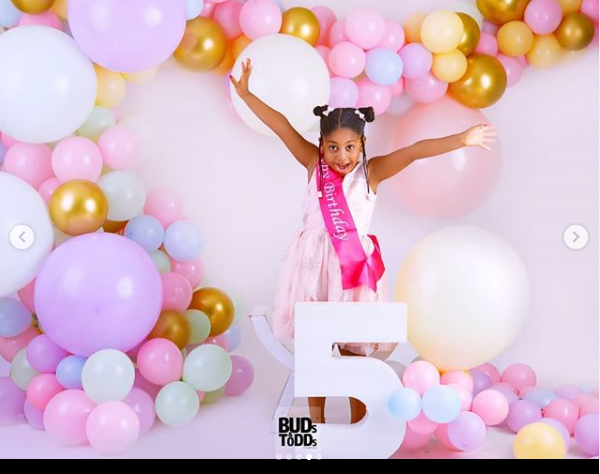DJ Neptune shares beautiful photos as he celebrates his daughter on her 5th birthday