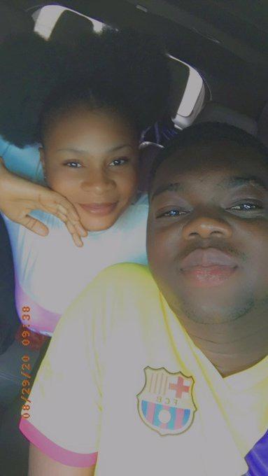 Anna Omogiate and Cute Abiola