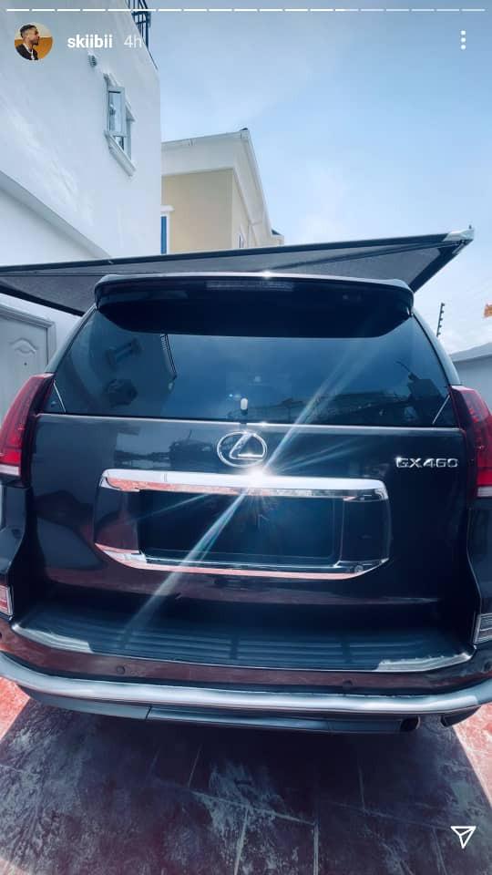 Singer Skiibii acquires brand new Lexus SUV (photos)