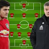 Manchester Derby: Predicted Line Up for Manchester United