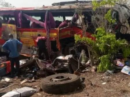 Deadly Accident on Buipe to Tamale Highway. 18 dead, Others Injured