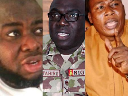 After COAS Attahiru vows to deal with Sunday Igboho and Dokubo, see how people reacted