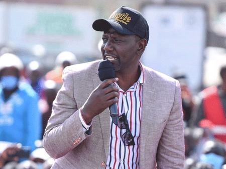 Dp Ruto Fires Shot to Statehouse Saying It's People of Kenya Who will Determine the Next President