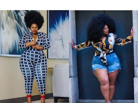 Meet The Beautiful Ugandan Plus Size Model Who Gives Plus Size Women Great Fashion Goals