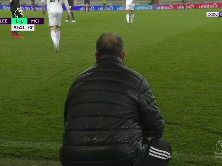 Brilliant Marcelo Bielsa schools Pep Guardiola while squatting on the sidelines