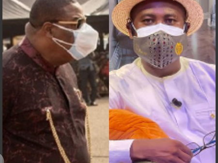 Is wearing of 2 nose masks the new trend? - See what Archbishop Duncan Williams had to say about it