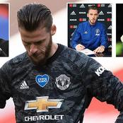 David Degea Sends Message To His Teammates After Draw Against Chelsea