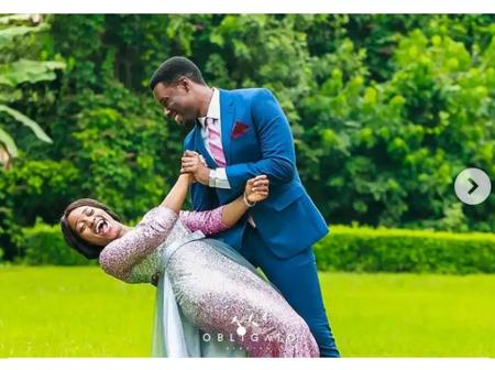 Pictures Of Joshua Mike Bamiloye And His Wife Tolulope Giving Us Couples Goals.