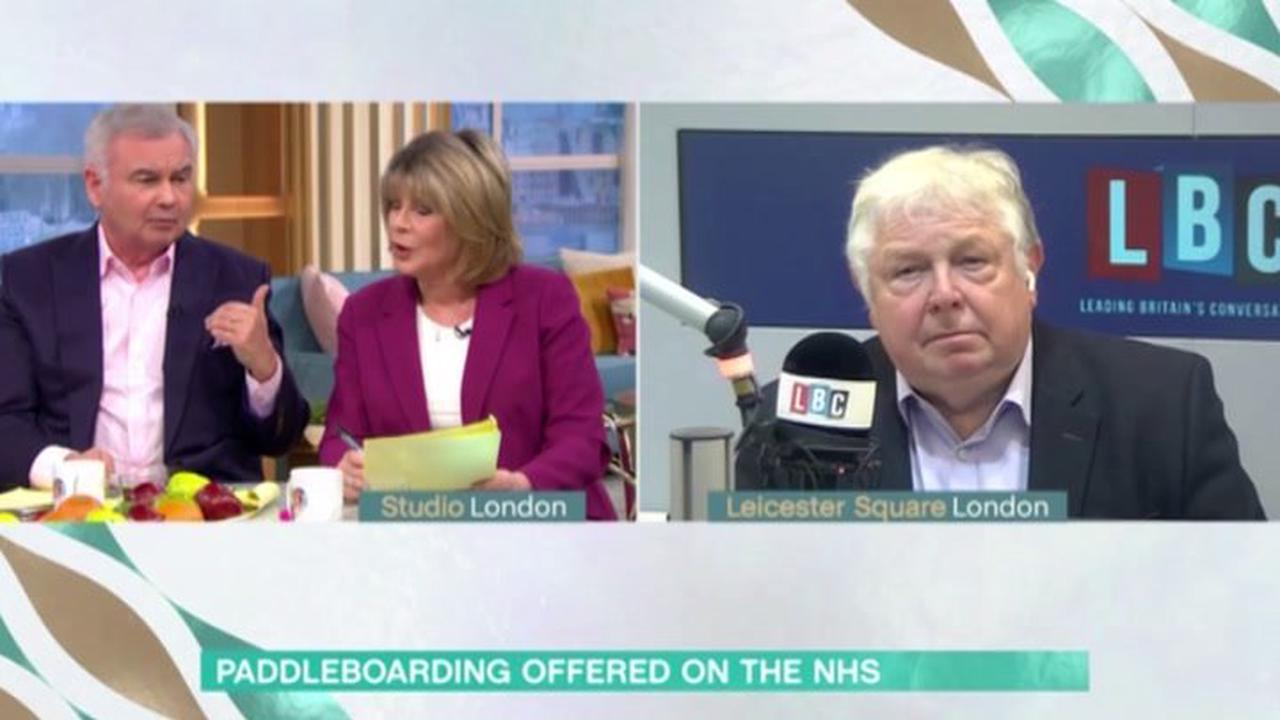 'You and I differ!' Eamonn Holmes and Ruth Langsford clash over chronic pain treatment