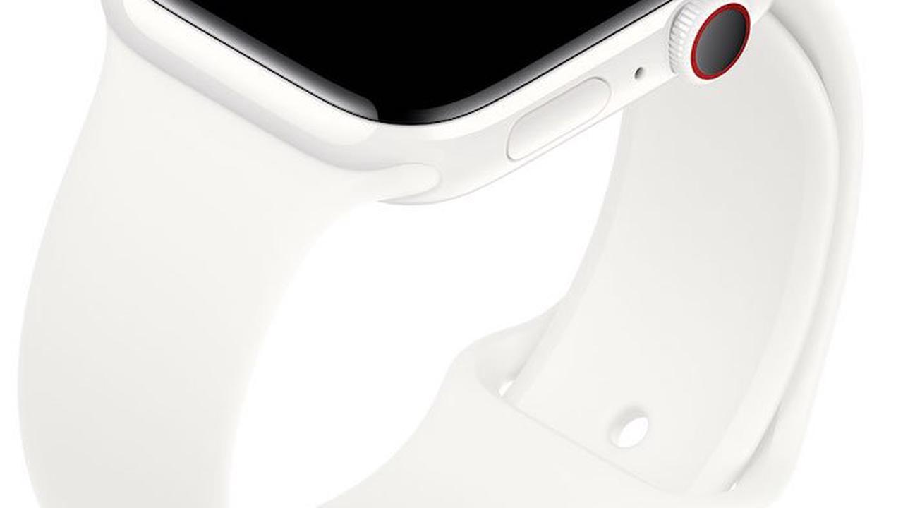 Fotos zeigen unveröffentlichte Apple Watch 5 in schwarzem Keramik ›