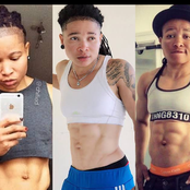 Meet ChiChi, the 34 years old Nigerian Lady with a body structure similar to Ronaldo's Own.