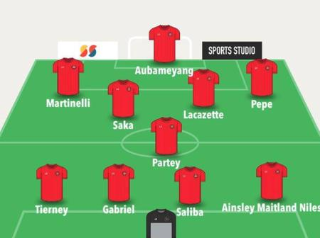 Things Are Bad Right Now, But This Is How Arsenal Should Line Up To Avoid Been Relegated