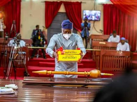 Governor Seyi Makinde presented Oyo State Budget Proposal for 2021 to State House of Assembly