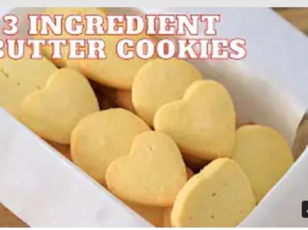 Mothers, Make This Butter Cookies With Just Three Ingredients In Your Kitchen