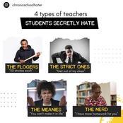 4 Types of Teachers Students Secretly Hate