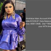 Reactions as Bobrisky shows off his Airtime balance, says