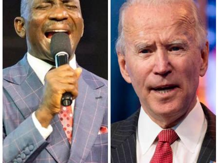 Today's Headlines: Joe Biden Sends Strong Message To Lesbian, Gay Persons, Eneche Drops New Prophecy