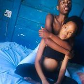 Pictures| Twitter React To This Pregnant Young Couple, See How It Ended