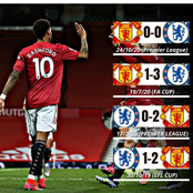 Manchester United Vs Chelsea: Check Out Results Of Their Last Four Matches